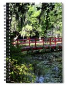 The Red Bridge Spiral Notebook