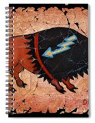 The Red  Buffalo Fresco Spiral Notebook