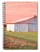 The Red Door Spiral Notebook