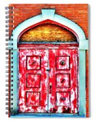 The Red Door Spiral Notebook