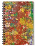 The Red Garden Path Spiral Notebook