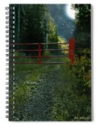 The Red Gate Spiral Notebook