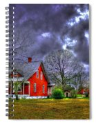 The Red House Spiral Notebook