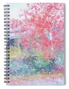 The Red Japanese Maple Tree Spiral Notebook