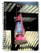 The Red Lantern Spiral Notebook