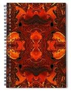 The Red Light Spiral Notebook