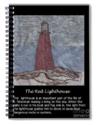 The Red Lighthouse Spiral Notebook
