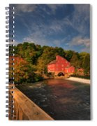 The Red Mill Spiral Notebook