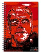 The Red Monster Spiral Notebook