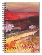 The Red Mountain Spiral Notebook
