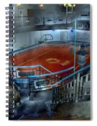The Red Pool Spiral Notebook