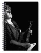 The Red Rocker In Spokane 1978 Spiral Notebook