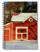 The Red Shed Spiral Notebook