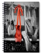 The Red Slipper Spiral Notebook