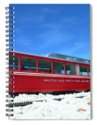 The Red Train Spiral Notebook
