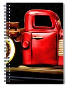 The Red Truck Spiral Notebook