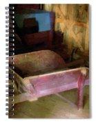 The Red Wheelbarrow Spiral Notebook