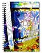 The Refracted Cobweb Spiral Notebook