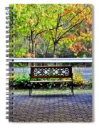 The Resting Spot Spiral Notebook