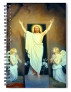 The Resurrection Of Christ By Carl Heinrich Bloch  Spiral Notebook