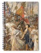 The Return Of The Victors Spiral Notebook