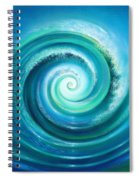 The Return Wave Spiral Notebook