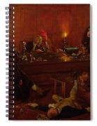 The Reverend Geoffrey Shovel, Chaplain Spiral Notebook