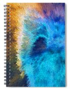 The Right Direction - Abstract Art By Sharon Cummings Spiral Notebook