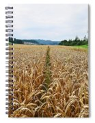 The Right Lane Spiral Notebook