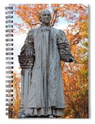 The Right Reverend William Pinkney Spiral Notebook