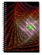 The Rippled Effect Spiral Notebook