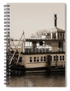 The River Lady Toms River New Jersey Spiral Notebook