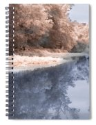 The River - Near Infrared Spiral Notebook