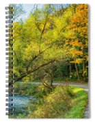 The River Road Curve Spiral Notebook