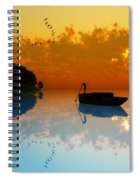The Riverboat... Spiral Notebook