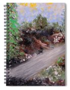 The Road Spiral Notebook