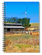 The Road To Collinsville 7 Spiral Notebook