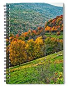 The Road To Glady Wv Spiral Notebook