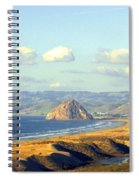 The Rock At Morro Bay Spiral Notebook