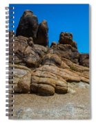 The Rock Formation Spiral Notebook
