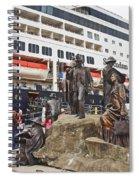 The Rock Ketchikan Alaska  Spiral Notebook