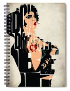 The Rocky Horror Picture Show - Dr. Frank-n-furter Spiral Notebook