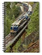 The Rocky Mountaineer Spiral Notebook