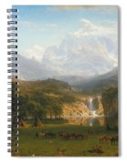 The Rocky Mountains Landers Peak Spiral Notebook