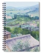 The Rolling Hills Of Tuscany Spiral Notebook