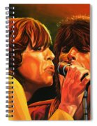 The Rolling Stones Spiral Notebook