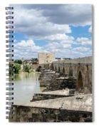 The Roman Bridge Of Cordoba  Spiral Notebook