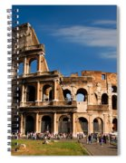 The Roman Colosseum Spiral Notebook