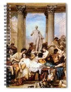 The Romans Of The Decadence Spiral Notebook