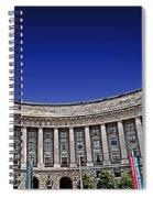 The Ronald Reagan Building And International Trade Center Spiral Notebook